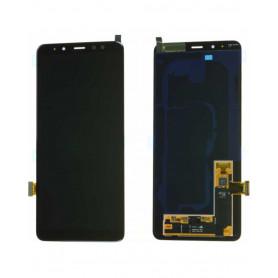 Ecran Samsung Galaxy A8+ 2018 (A730F) Noir (Service Pack)