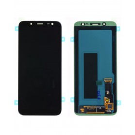 Écran Samsung Galaxy J6 2018 (J600F)/A6 2018(A600) Noir (Service Pack)