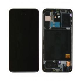 Écran Samsung Galaxy A40 (A405F) Noir (Service Pack)