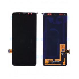 Ecran Samsung Galaxy A8 2018 (A530F) Noir (Service Pack)
