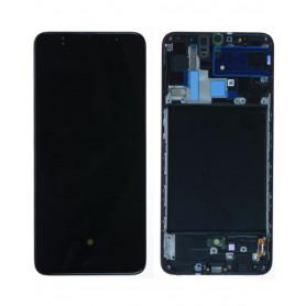 Écran Samsung Galaxy A70 (A705F) Noir (Service Pack)
