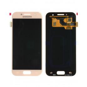 Ecran Samsung Galaxy A3 2017 (A320F) Rose (Service Pack)