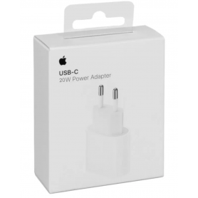 Adaptateur Secteur USB-C 20 W Apple - Retail Box (Origine)