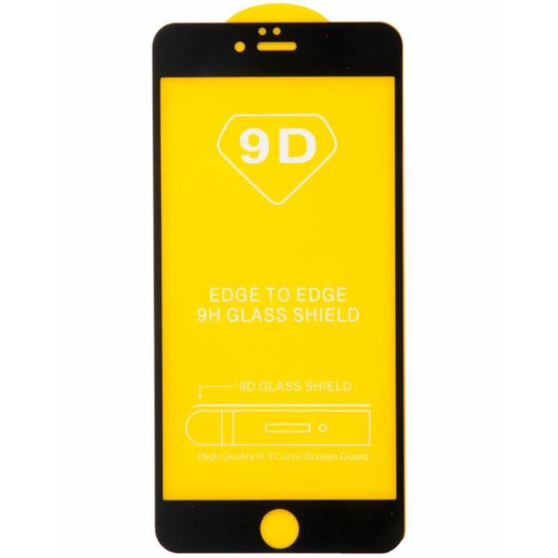 Verre Trempé 9D Pleine Couverture Pour iPhone - Vrac