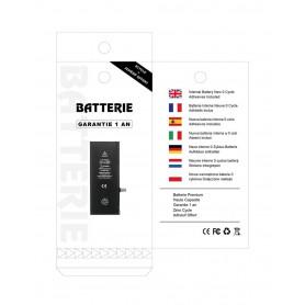 Batterie iPhone 5 Interne Neuve 0 Cycle + Adhésifs - Garantie 12 Mois (ECO)