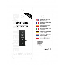 Batterie iPhone 6S Interne Neuve 0 Cycle + Adhésifs - Garantie 12 Mois (ECO)