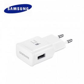 Adaptateur Secteur USB Origine Samsung EP-TA20EWE Blanc 2A,5V Charge rapide