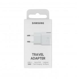 Adaptateur Secteur Samsung USB EP-TA20EWE - 15W - Blanc - Retail Box - Origine