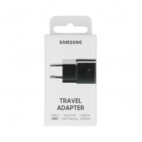 Adaptateur Secteur Samsung USB EP-TA20EBE - 15W - Noir - Retail Box - Origine
