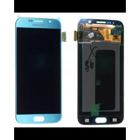 Ecran Samsung Galaxy S6 (G920F) Bleu Turquoise (Service Pack)