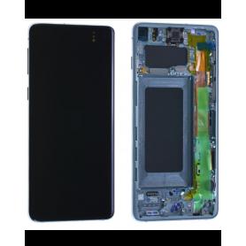 Ecran Samsung Galaxy S10 (G973) Vert + Châssis (Service Pack)