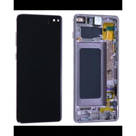 Ecran Samsung Galaxy S10 Plus (G975) Blanc (Service Pack)