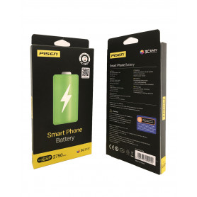 Batterie iPhone 7 Plus 3.82V/2900mAh + Adhésifs - Garantie 18 Mois (ECO Plus)