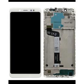 Ecran Xiaomi Redmi 5 Blanc Vitre Tactile + LCD