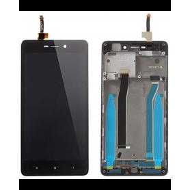 Ecran Xiaomi Redmi 3 Noir Vitre Tactile + LCD