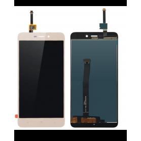 Ecran Xiaomi Redmi 4A Or Vitre Tactile + LCD