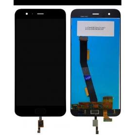 Ecran Xiaomi Mi 6 Noir Vitre Tactile + LCD