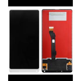 Ecran Xiaomi Mi Mix 2 Blanc Vitre Tactile + LCD