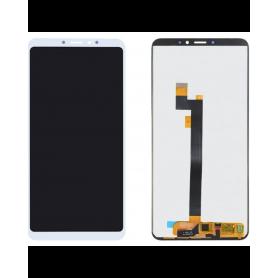 Ecran Xiaomi Mi Max 3 Blanc Vitre Tactile + LCD