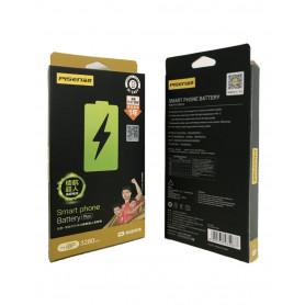 Batterie iPhone X 3.81V/3190mAh + Adhésifs - Garantie 18 Mois (ECO Lux)