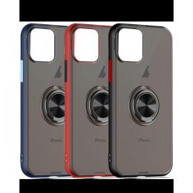 Coque de Protection pour Samsung Série S - Transparent avec Magnet et Support