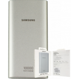 Samsung Power Bank 10 000mAh 2 USB + USB C - Silver