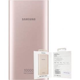 Samsung Power Bank 10000mAh 2 USB + USB C - Rose
