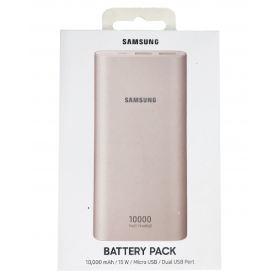 Power Bank Samsung 10 000mAh 2 USB + USB C - Rose (Origine)