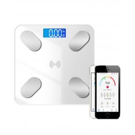 Balance Connectée en Verre - Bluetooth - Blanc
