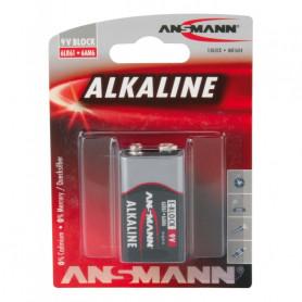 Pile E-Block Alcaline ANSMANN 6LR61 9V