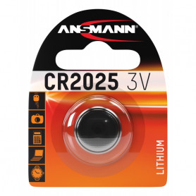 Pile Bouton Lithium ANSMANN CR 2025 3V