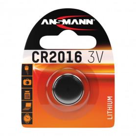 Pile Bouton Lithium ANSMANN CR 2016 3V