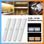 Lampe Magnétique 14 LED 21cm avec Batterie Rechargeable Intégrée de 500mAh