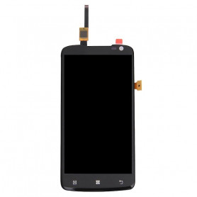Ecran LENOVO S820 Noir Vitre Tactile + LCD (COMPLETE)