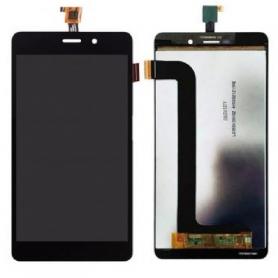 Écran Wiko Pulp Fab 4G Noir Vitre Tactile + LCD