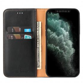 Étui Rabat Portefeuille En Cuir PU 2 en 1 pour Samsung Note