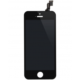 Ecran iPhone 5S/SE Noir Grade AAA (Compatible)
