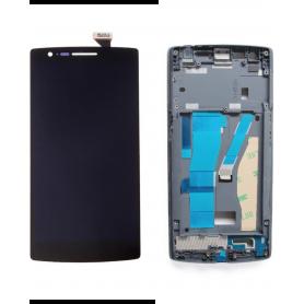 Ecran OnePlus 1 Noir Sur Châssis