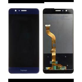 Ecran Huawei Honor 8 Bleu Vitre Tactile + LCD
