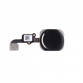 Bouton Home Noir + Nappe - IPhone 6