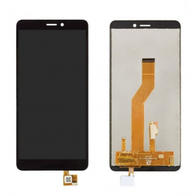 Écran Wiko Jerry 3 Noir Vitre Tactile + LCD