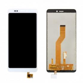 Écran Wiko Jerry 3 Blanc Vitre Tactile + LCD