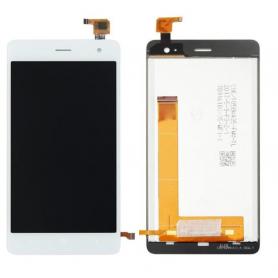 Écran Wiko Jerry 2 Blanc Vitre Tactile + LCD