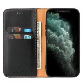 Étui Rabat Portefeuille En Cuir PU 2 en 1 pour Samsung A