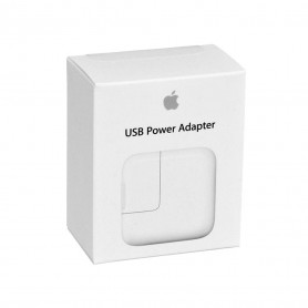 Adaptateur Secteur USB 12 W Apple - Retail Box (Origine)