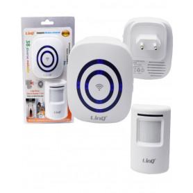 Alarme Détecteur de mouvement infrarouge Wireless LinQ W0256