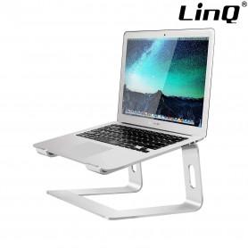 Support Ordinateur Portable / Macbook en Aluminium Ventilé, LinQ HD3269