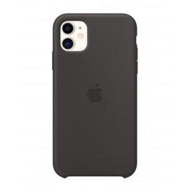 Coque en Silicone pour iPhone 11 Noir - Retail Box (Origine)