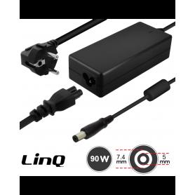 Chargeur Secteur PC DELL 65W / 19.5V 4.62A LinQ DL6503