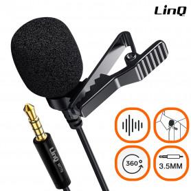 Câble Micro-cravate Jack 3.5mm LinQ M7779